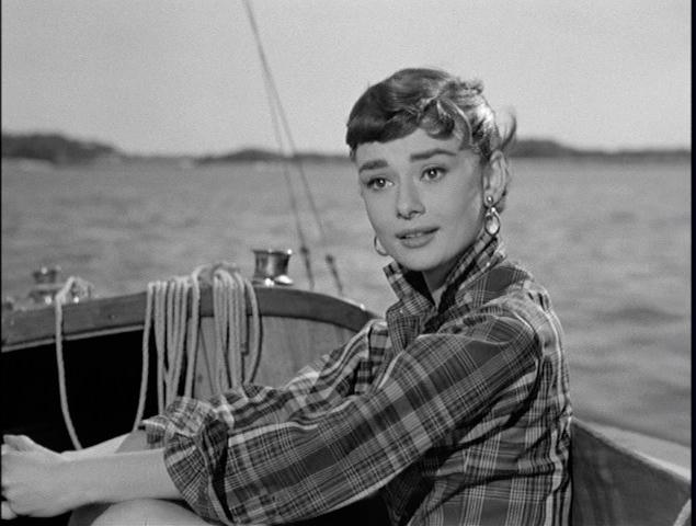 Sabrina + Audrey Hepburn + sailboat 2